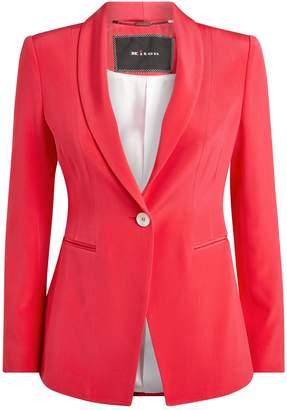 Kiton Silk Blazer Jacket