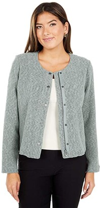 Nic+Zoe Fall Nights Jacket (Olivewood) Women's Clothing