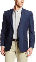 Tommy Hilfiger Men's Ethan Two-Button Side-Vent Plaid Sportcoat