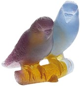 Daum Lovebirds Figurine