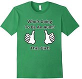Men's This Girl Is Going To Be An Aunt Shirt - Expect Niece Nephew Large
