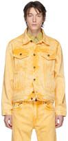 Y/Project Yellow Denim Double Seam Jacket