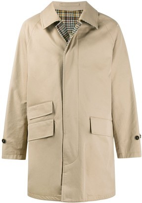 MACKINTOSH Single-Breasted Trench Coat
