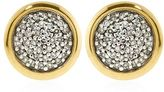 Links of London Diamond Essentials Pave Round Stud Earrings