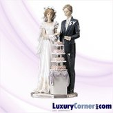 Lladro Wedding Cake 01005587