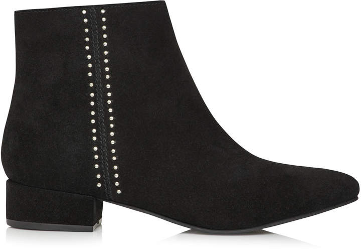 0ad4df61919 Long Tall Sally LTS Naomi Suede Studded Ankle Boot
