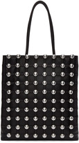 Alexander Wang Black Studded Cage Tote