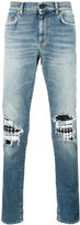 Saint Laurent biker jeans - men - Cotton/Spandex/Elastane - 30