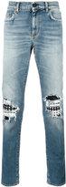 Saint Laurent biker jeans