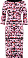 Goat Marcelle printed crepe dress