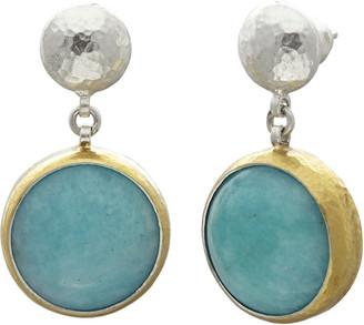 Gurhan Silver Galapagos Double Drop Earring - Amazonite