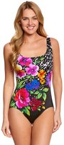 Longitude Bouquet UBack Tank One Piece Swimsuit - 8150545