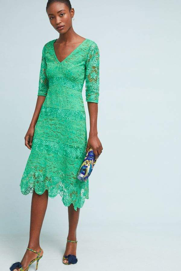 Plenty by Tracy Reese Angelica Lace Midi Dress