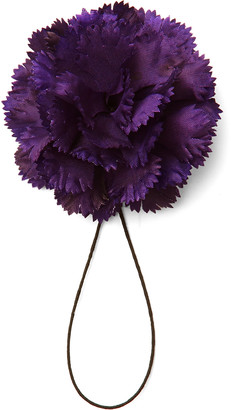 Maximilian Mogg Silk Flower Boutonniere