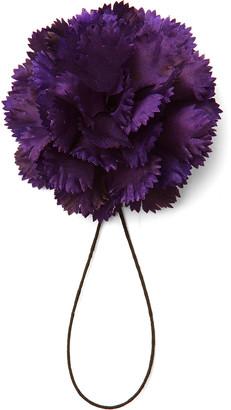Silk Flower Boutonniere