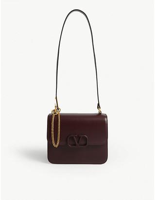 Valentino V-sling leather shoulder bag