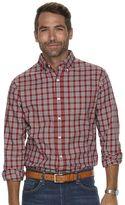 Croft & Barrow Men's Classic-Fit Grid Easy-Care Button-Down Shirt