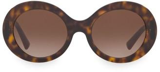 Valentino Allure 52MM Retro Round Sunglasses