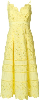 Three floor Zest broderie anglaise dress