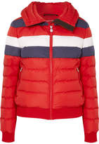 Perfect Moment Queenie Color-block Quilted Down Jacket