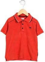 Armani Junior Boys' short Sleeve Collared Polo