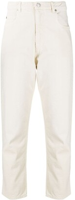Etoile Isabel Marant High-Waisted Cropped Jeans