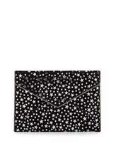 Rebecca Minkoff Leo Star-Print Envelope Clutch Bag