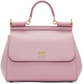 Dolce & Gabbana Pink Medium Miss Sicily Bag