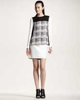 Derek Lam 10 Crosby Leather Pencil Skirt