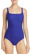 Gottex Essence Square Neck One Piece Swimsuit
