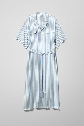 Weekday Order Shirt Dress - Blue