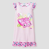 Shopkins Girls' Shopkins® Bun Bun Easter Nightgown - Pink