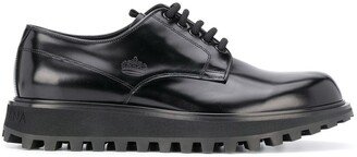 Dolce & Gabbana ridged sole Derby shoes