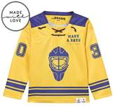 The BRAND Make A Save Yellow Hockey Sweater Blue/Yellow