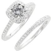 Lafonn Women's Simulated Diamond Engagement Ring & Band