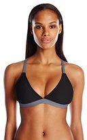 Next Women's Good Karma Barre Racer Back Sports Bra Bikini Top with UPF 50
