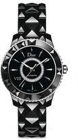 Christian Dior VIII Diamond & Black Ceramic Automatic Bracelet Watch