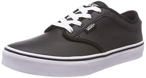 3d108da8 Boys' Atwood Synthetic Leather Low-Top Sneakers, Classic Tumble Black P3o