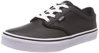 Vans Boys' Atwood Synthetic Leather Low-Top Sneakers
