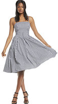 New York & Co. Gingham Fit & Flare Dress