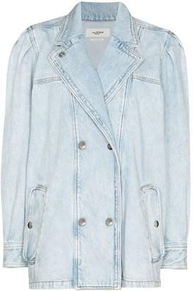 Etoile Isabel Marant Lucinda double-breasted denim jacket