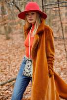 Urban Outfitters Charlie Long Faux Fur Coat