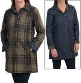 Barbour Reversible Tartan Derby Mac Trench Coat (For Women)