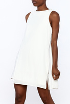 Endless Rose Ivory Sleeveless Shift Dress
