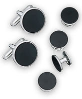 Jan Leslie Cuff Link & Stud Set Casual Male XL Big & Tall