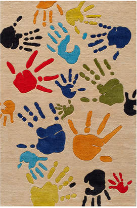 Momeni Finger Paint Hand-Tufted Rug