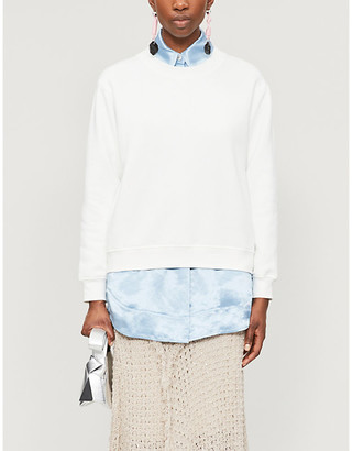 Acne Studios Oversized organic cotton sweatshirt