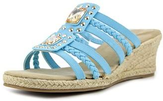 Easy Street Shoes Women's Bazinga Espadrille Wedge Sandal