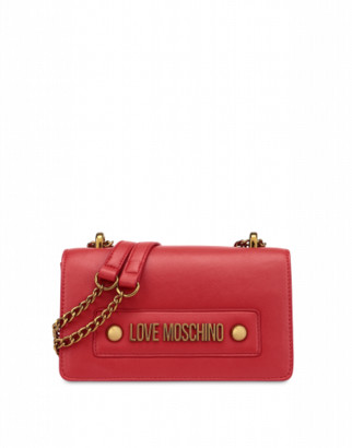 Love Moschino Shoulder Bag With Logo Woman Red Size U It - (one Size Us)