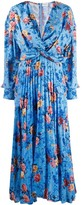 Magda Butrym draped floral dress